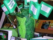 Green Scene flag tags