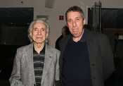 English: Directors Arthur Hiller and Ivan Reitman attend The Canadian Film Centre cocktail reception celebrating the Telefilm Canada Features Comedy Lab held at Avalon Hotel on March 9, 2011 in Beverly Hills, California.
