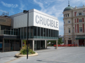 English: The Crucible theatre in Sheffield, UK.