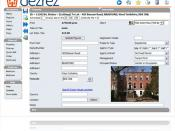 English: Screenshot of estate agency software program dezrez which estate agents use to manage their estate agency