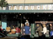 The second location of Starbucks in Seattle was opened in 1977.