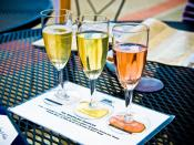 Image of California sparkling wines.