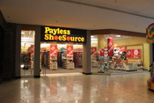 Payless ShoeSource store, Briarwood Mall, Ann Arbor, MI.
