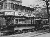 London tram cars #332