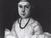 Hedvig Ibsen, sister of Henrik Ibsen