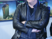 An image cropped so that it just shows Martin O'Donnell