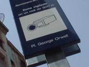Videovigilància a la Plaça George Orwell