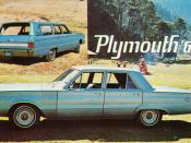 1967 Plymouth Belvedere Sedan & Station Wagon (Mexico)