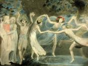 Oberon, Titania and Puck with Fairies Dancing. From William Shakespeare's A Midsummer Night's Dream