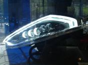 Concept Phare Peugeot
