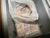 Operation Pisa - Seized cash