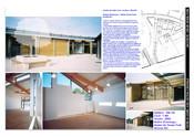 English: Daycare center in wood Français : Centre de loisirs en bois