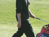 Justin Timberlake at the AT&T Pebble Beach National Pro-Am