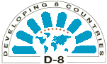 The official D-8 logo.