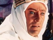 English: Cropped screenshot of Peter O'Toole from the trailer for the film Lawrence of Arabia (film)