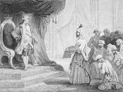 English: During the captivity of Mangalorean Catholics at Seringapatam, Tipu's embassy visited the court of the French King Louis XVI in 1788. Pope Clement XIV's representative conveyed the appeal to the embassy to allow the priests in Seringapatam.