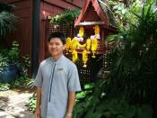 Security Guard at Jim Thompson House