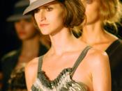 Daiane Conterato modeling for Huis Clos, Fall 2008 Sao Paolo Fashion Week