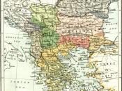 English: Balkans at 1913
