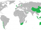 Map of Boost Juice Bars/Former Boost Juice Bars by Country