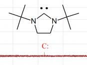 Carbene peak in 13 C NMR See also: 100px for full 13 C NMR spectrum