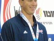English: Jason Lezak at the Maccabiah Games 07/2009