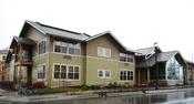 English: Rain Garden Apartments in the Villebois development in Wilsonville, Oregon. Provides housing to those with mental illnesses.