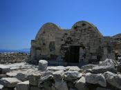 Ayos Stefanos church, Ancient Thira