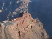 English: Guano Point - a popular vantage point on the West Rim of the Grand Canyon
