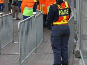 Police and private security in Johannesburg during the 2010 World Cup.