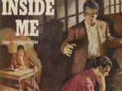 The Killer Inside Me (1952), one of the definitive noir novels, by Jim Thompson. The guilty party?