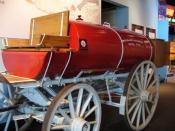 Standard Oil Company truck at the Oklahoma History Center.