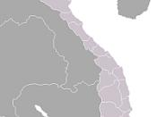 English: Blank map of Vietnamese provinces. ไทย: แผนที่เปล่าของจังหวัดในประเทศเวียดนาม