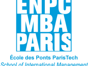 English: Logo ENPC MBA Paris School of International Management