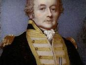 Portrait of Rear Admiral William Bligh by Alexander Huey, 1814