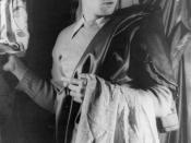 Portrait of Marlon Brando,
