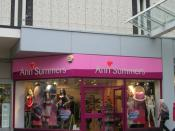 English: Ann Summers - The Piazza Centre