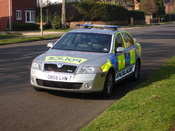 New type hampshire Police vehicles (Front) Fitted with ANPR