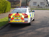 New type hampshire Police vehicles (Rear) Fitted with ANPR