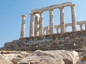 Temple of Poseidon - Northern fascade