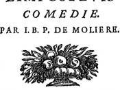 Front page of Le Tartuffe, ou l'Imposteur by Molière (1622-1673)