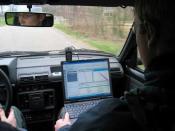 Satellite navigation. Image shot by uploader.
