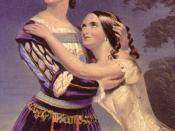 Charlotte and Susan Cushman (the Cushman sisters) in Shakespeare's Romeo and Juliet in 1846