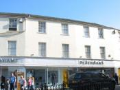 Old Debenhams, Bangor, north Wales