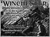 Winchester Repeating Arms Company advertisement from 1898.
