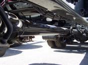propeller shaft on a truck