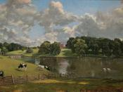 Wivenhoe Park by John Constable in 1816, when Mary was a child there
