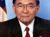 Norman Mineta, Secretary of Transportation.