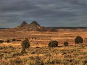Hopi Buttes. This was taken about 30 miles southeast of Hopi First Mesa.