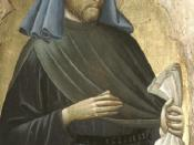Saint Homobonus' (died 1197) attributes include a bag of money